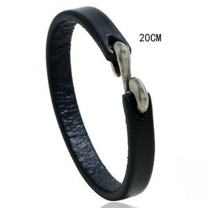 Men Unisex's Punk Simple Leather Bracelet Surfer